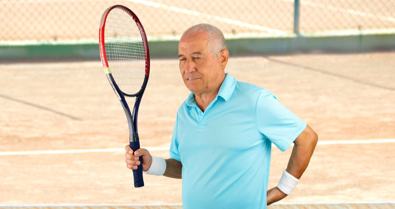Prevent a Tennis Back Injury Before It Happens
